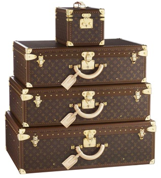 Traveling with Louis Vuitton Luggage